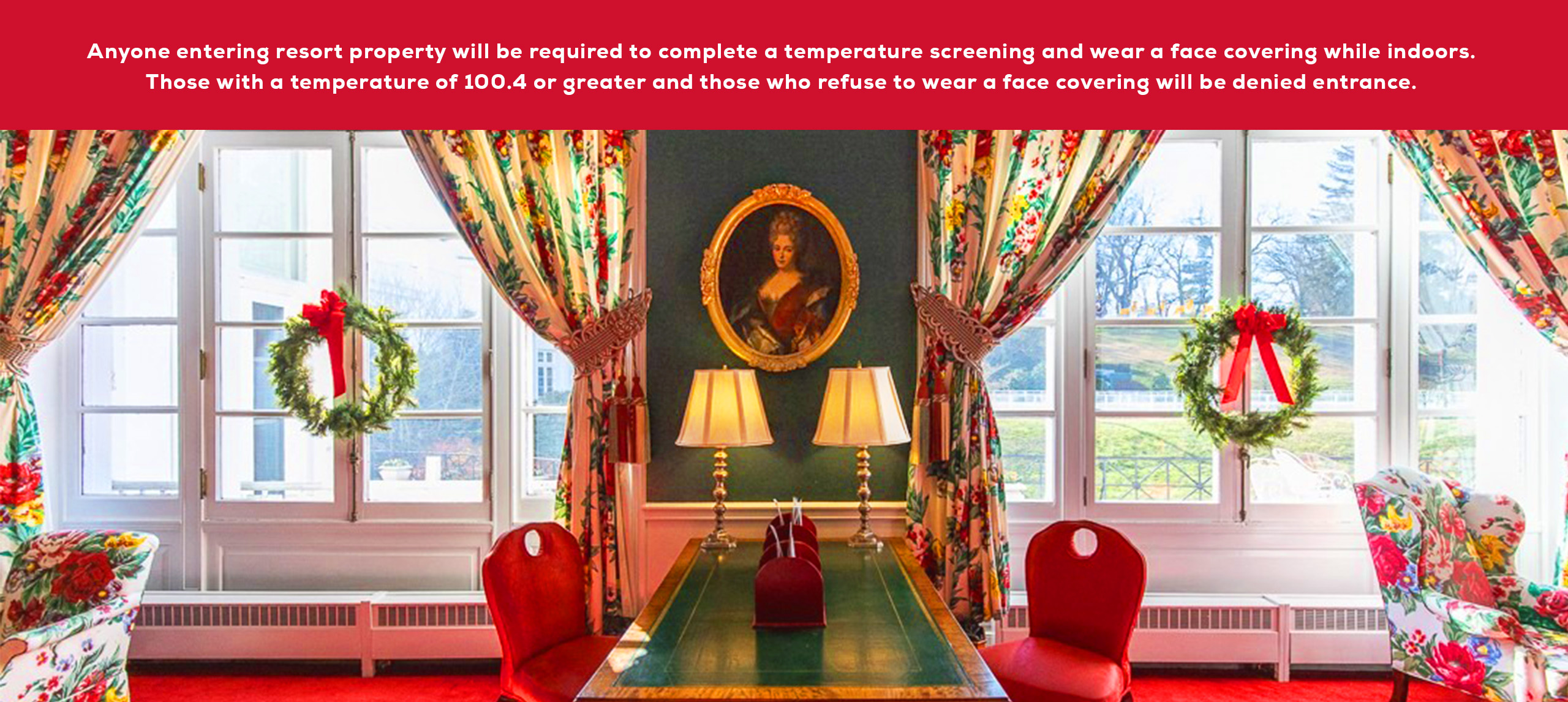 Victorian Writing Room at The Greenbrier